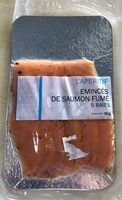 Emincés de Saumon Fumé - Produit - fr