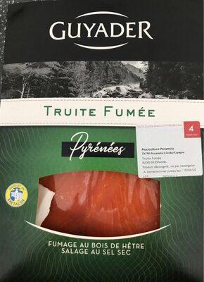 Truite fumée - Informations nutritionnelles