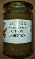 Confiture citron de menton - Product - fr