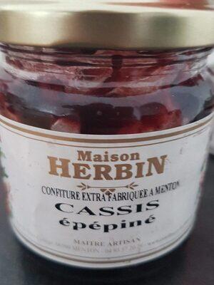 Confiture extra cassis épépiné - Produit - fr