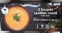 Soupe lentilles corail - Produit - fr