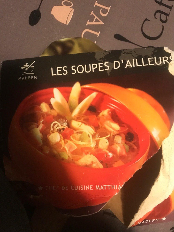 Soupe Thaïlandaise, 2 Fois 250 Grammes, Marque Madern - Produit - fr