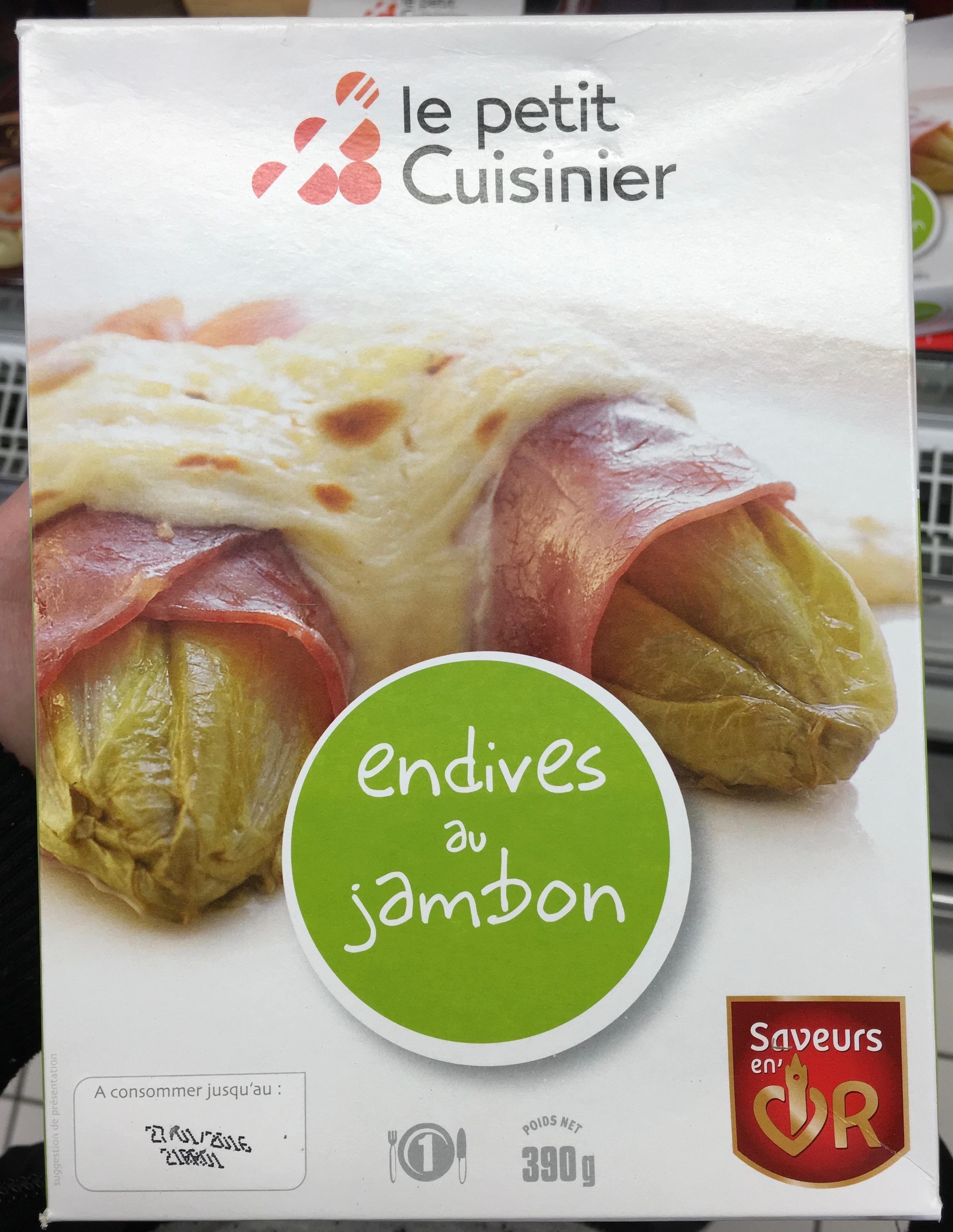 Endives au jambon le petit cuisinier 390 g for Cuisinier sel