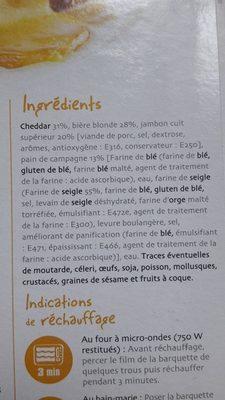 Welsh - Ingredients