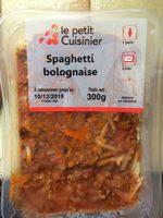 Spaghetti bolognaise - Product