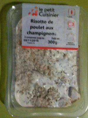 Risotto de poulet aux champignons - Product - fr