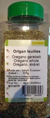 Origan feuilles - Produit - fr