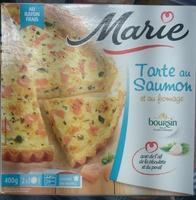 Tarte au Saumon et au Fromage - Produit - fr