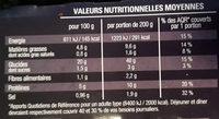 Riz cantonais - Informations nutritionnelles - fr