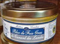 Bloc de Foie Gras de Canard des Landes - Produit - fr