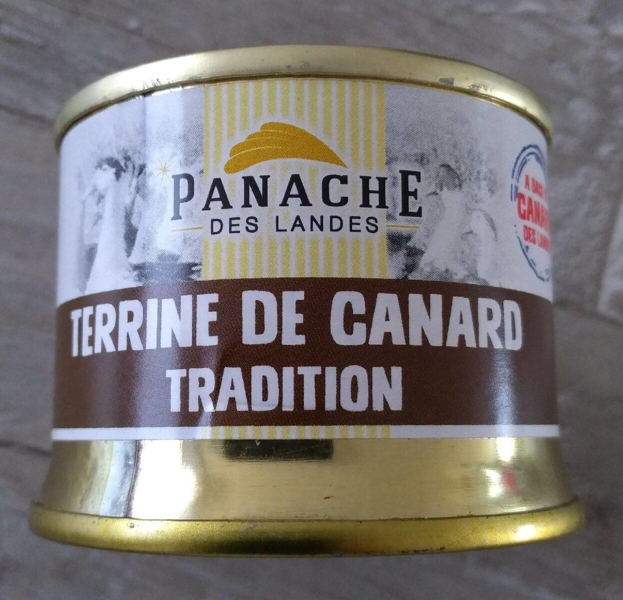 Terrine de canard tradition - Produit - fr