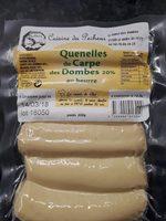 Quenelles de Carpe des Dombes 20% au beurre - Product - fr
