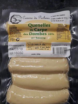 Quenelles de Carpe des Dombes 20% au beurre - Product