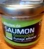 Rillettes de saumon biologique fumage artisanal - Product
