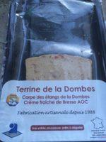Terrine de la Dombes - Produit - fr