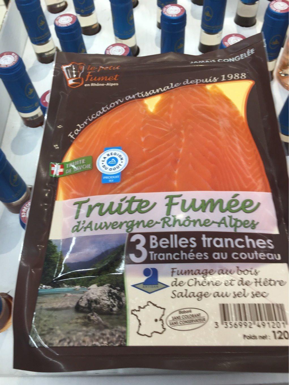 Truite fumée d'Auvergne-Rhône-Alpes - Product - fr