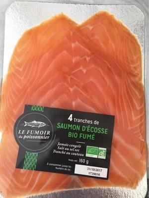 Saumon Fumé d'Écosse Bio - Produit - fr