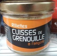Rillettes cuisses de grenouille à l'aligoté - Produit - fr