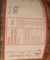 Terrine de canard aux figues - Ingrédients - fr