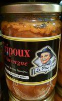 Tripoux d'Auvergne - Produit