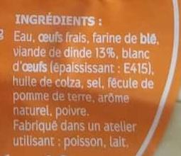 Quenelles lyonnaises de volaille - Ingredients - fr
