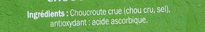 Choucroute d'Alsace - Ingrediënten - fr