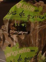 Fraises Gariguette, Catégorie 1 - Ingrediënten