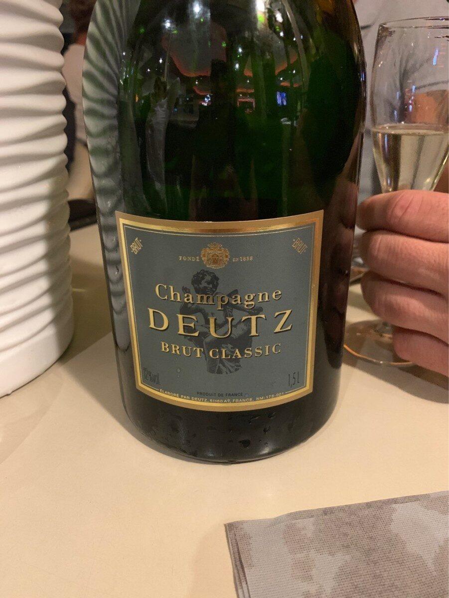 Magnum De Champagne Deutz Classic Brut 150 CL Avec étui - Product