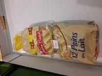 12 pains au lait - Produit - fr