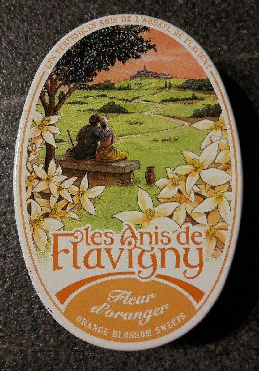 Les Anis De Flavigny - Bonbon Dur à Base Orange - Boite De - Product