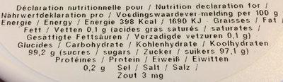 Les Anis De Flavigny - Bonbon Dur à Base Orange - Boite De - Voedingswaarden