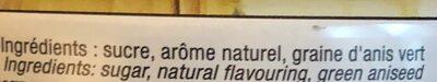 Boîte Ronde 250 g - Ingredients - fr