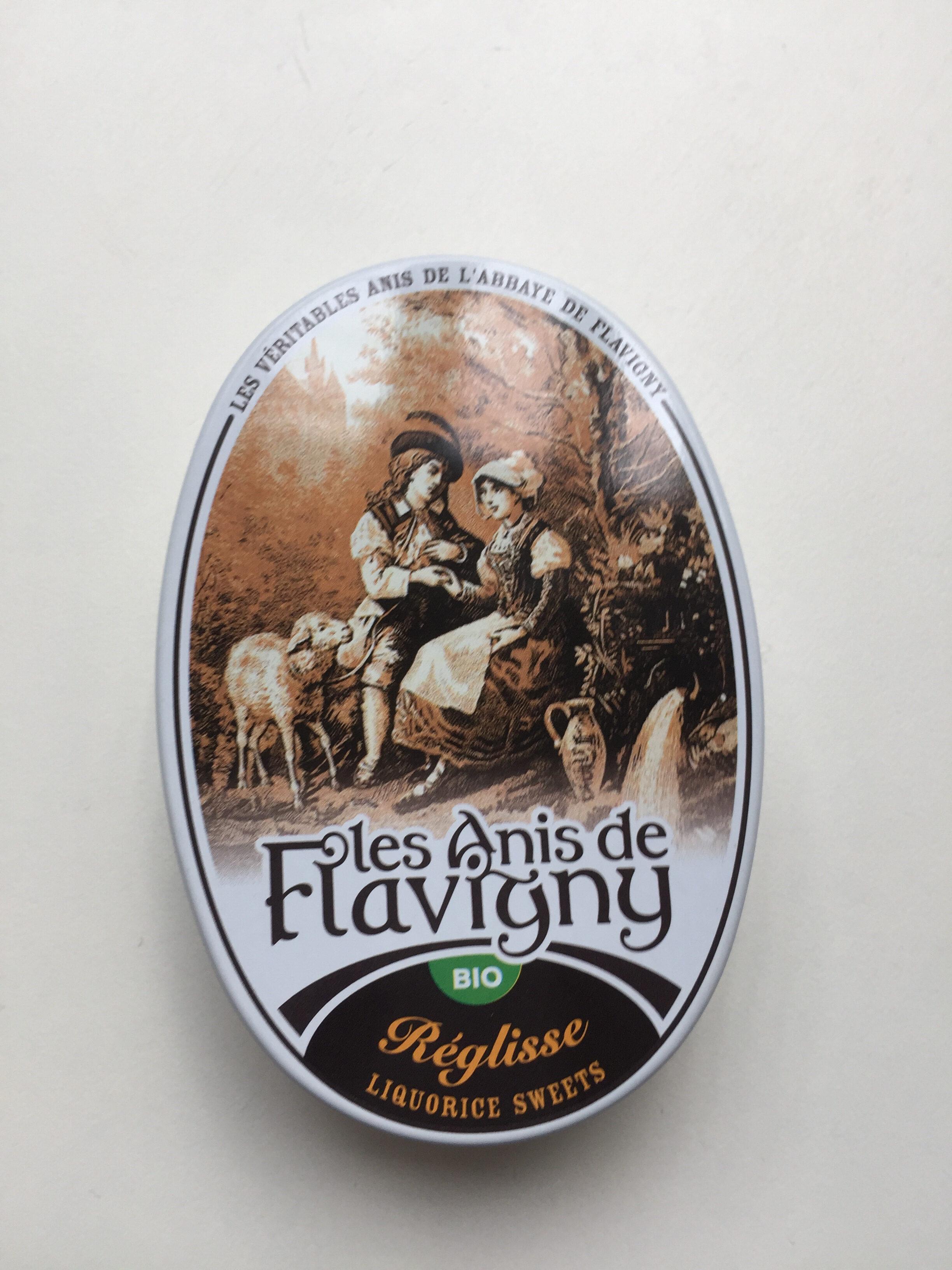 Bonbons Réglisse Bio - 50G - Anis De L'abbaye De Flavigny - Produit - fr