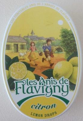 Les Anis de Flavigny Citron - Produit