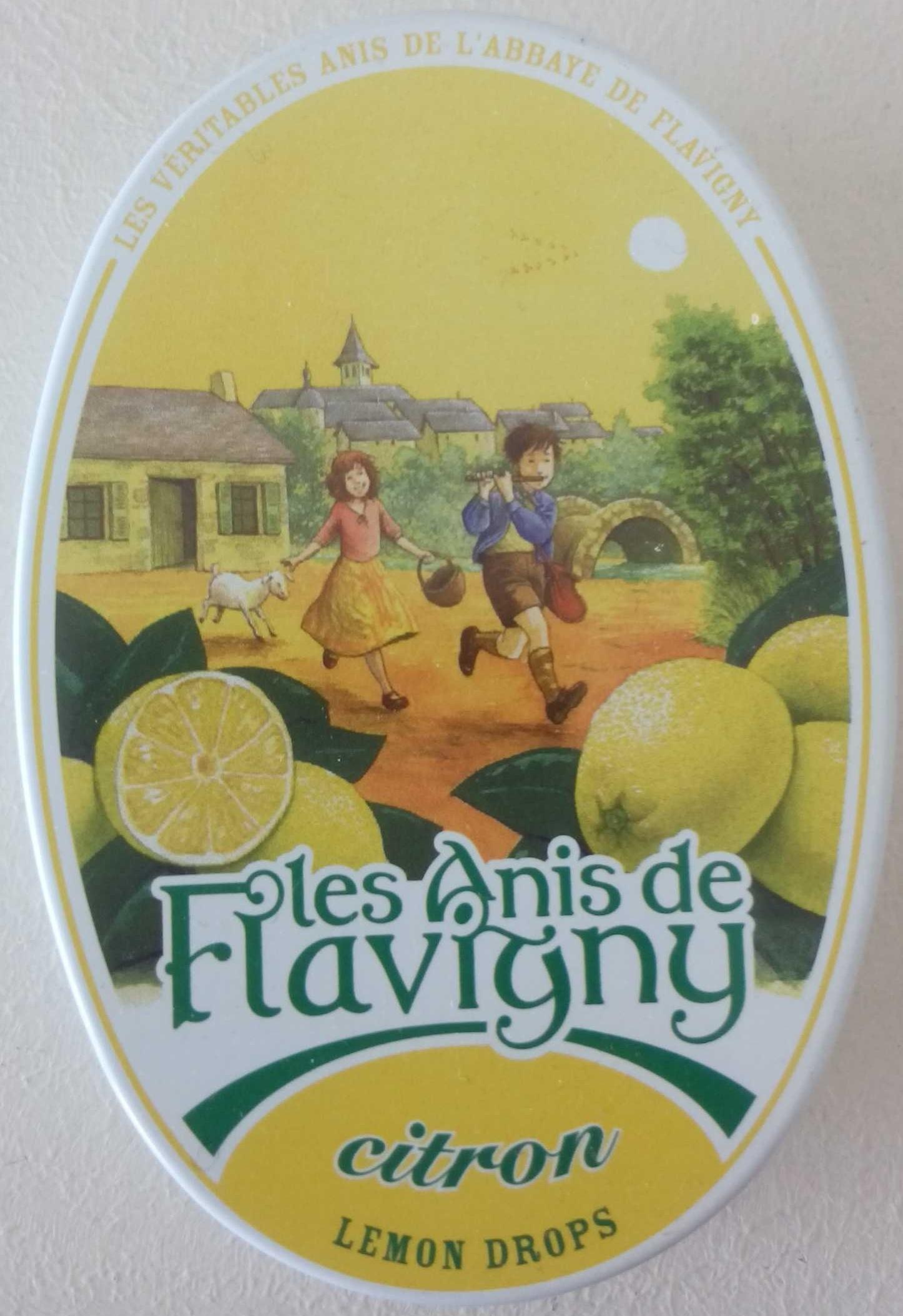 Les Anis de Flavigny Citron - Product - fr