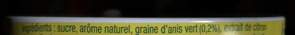 Les Anis de Flavigny Citron - Ingredients - fr