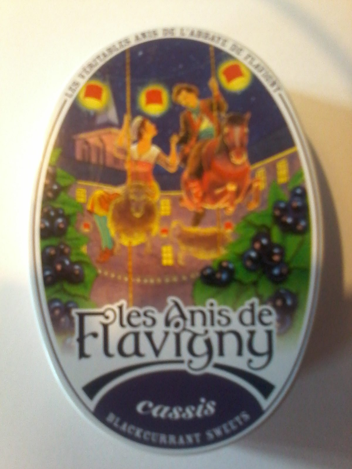 Les anis de Flavigny aux cassis - Product - fr