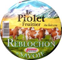 Reblochon de Savoie AOP Le Piolet Fruitier Au lait cru - Producto