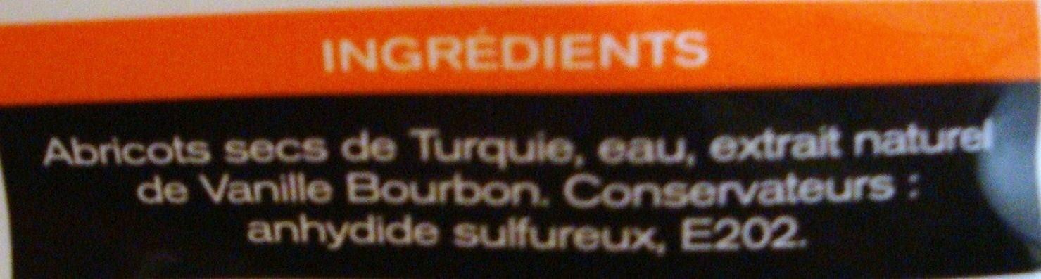 Abricots moelleux - Ingrediënten - fr