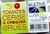 Tomates cerise à croquer crues 250 g - Produit