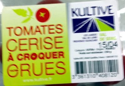 Tomates cerise à croquer crues 250 g - Product - fr