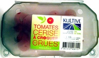 Tomates cerise à croquer crues 500 g - Product