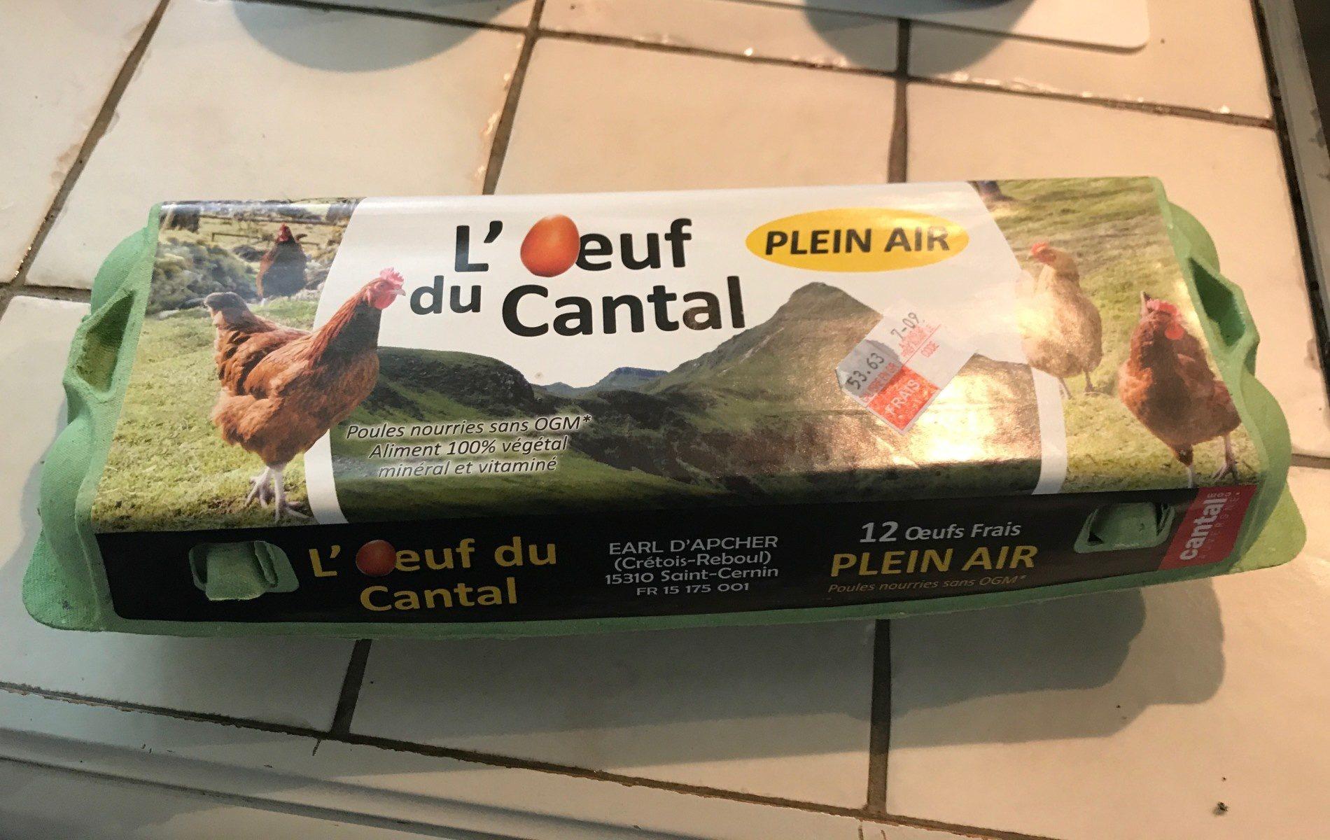 L'oeuf du Cantal - Produit - fr
