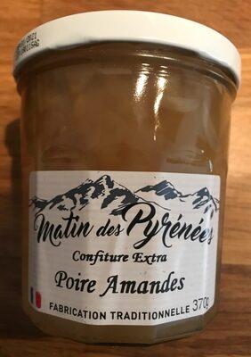 Confiture poire amande - Product