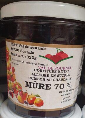Confiture de  mûre val de  sournia - Prodotto - fr
