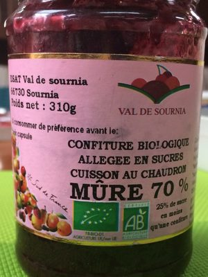 Confiture biologique allegee en sucre cuisson au chaudron - Produkt