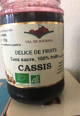Delice de fruits Cassis Val De Sournia   calories et informations ... aec8cccfd58