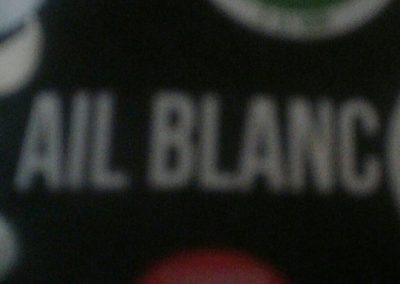 Ail blanc - Ingrédients