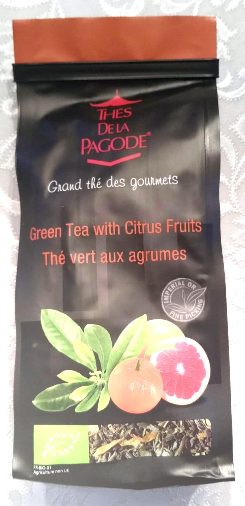 Thé vert aux agrumes - Produit