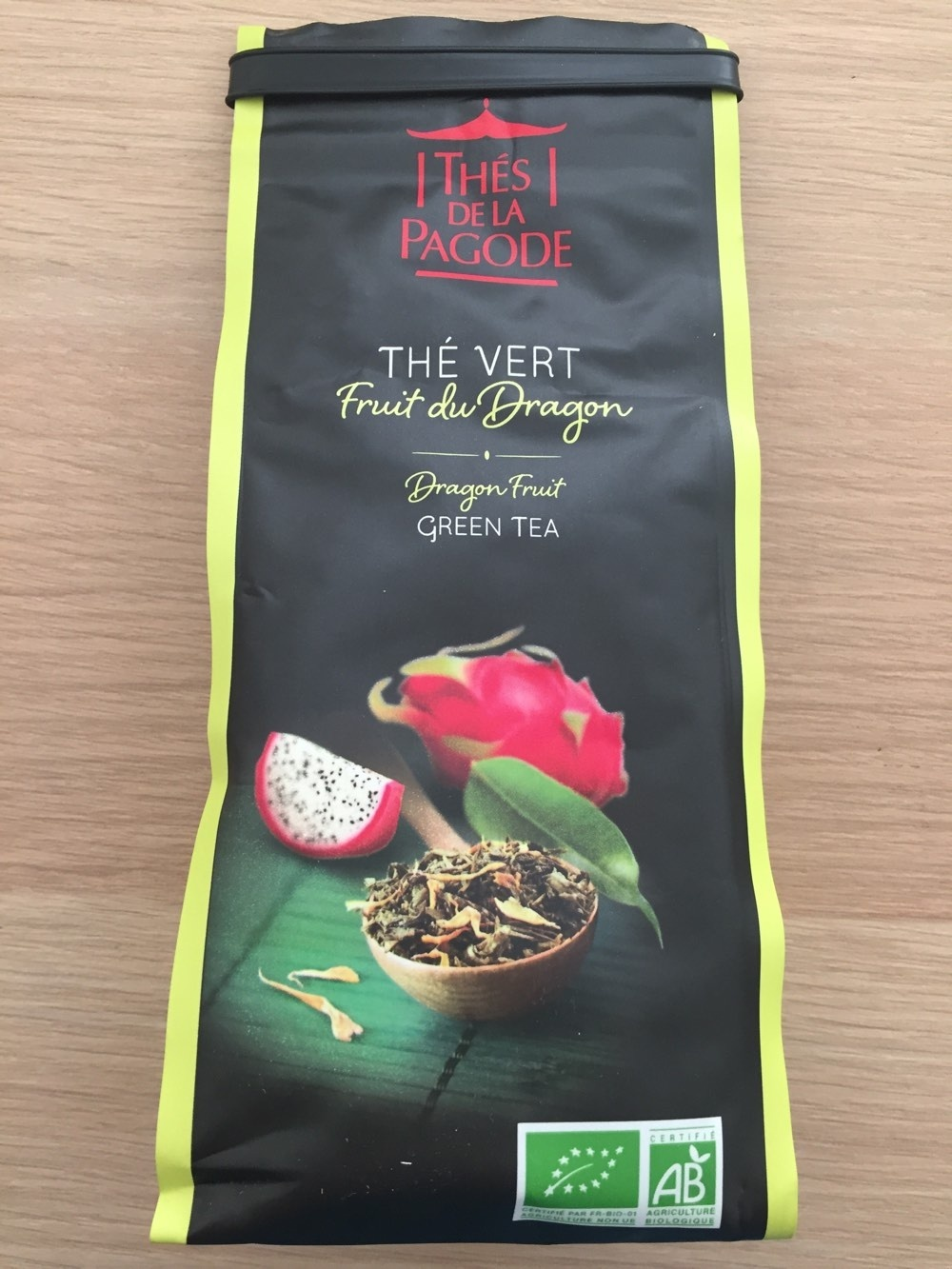 Thé vert au fruit du dragon - Grand thé des gourmets - Product - fr